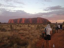 Small-Group Tour: Sunrise Over Uluru (Ayers Rock) and Base Walk with Indigenous Guide - November 2013