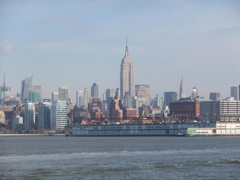 View of the Empire State Building - New York City