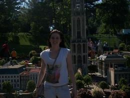 Tracey at the model village , Jane F - August 2012