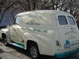 Photo of New York City Best of Brooklyn Half-Day Food and Culture Tour An old delivey truck for fresh Key Lime Pies.