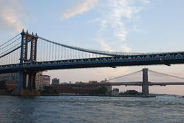 Photo of   Brooklyn  and  Manhattan Bridges