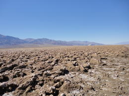 Blue sky and gray desert , Sue Z - March 2013