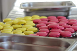 Photo of Paris Learn How To Make French Macaroons in Paris freshly made Raspberry and Lemon Macaroons