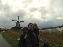 Photo of Amsterdam Zaanse Schans Windmills, Marken and Volendam Half-Day Trip from Amsterdam having dun in the area..