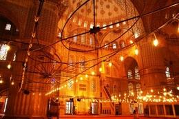Beautiful interiors comparable to the Alabaster Mosque in Egypt, Raymond G - December 2009