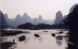 Near Xing Ping village on Li River - May 2012