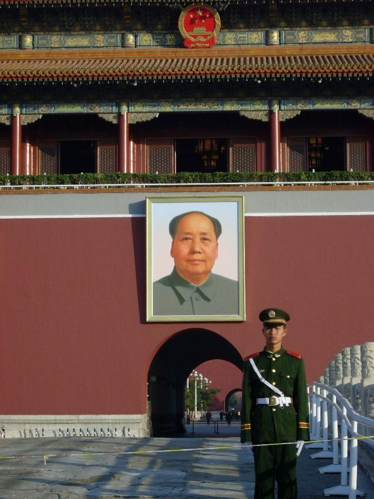 Mao and mates - Beijing