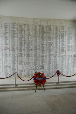 Names of the dead and missing in action, USS Arizona Memorial., Jeff - February 2008