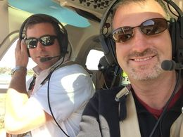 First time in a helicopter AND getting to sit up front...priceless!!!! , Eric V Tyler T - May 2015
