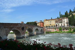 Photo of Verona Verona City Hop-on Hop-off Tour Ponte Pietra