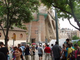 Tour group for Sagrada Familia , madh5421 - July 2013