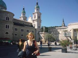 Trip to Salzburg with Salzburg Cathedral in background - May 2011