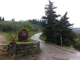Photo of Florence Chianti Region Wine Tasting Half-Day Trip from Florence Still stunning after a rain storm