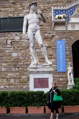 Photo of Florence Florence Super Saver: Best of Florence Walking Tour, Accademia Gallery, Uffizi Gallery and Florence Duomo The fake David