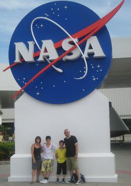 Photo of Orlando Kennedy Space Center at Cape Canaveral The Hardman Family visiting Nasa