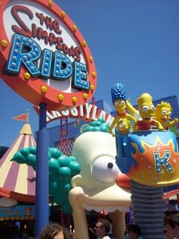 Photo of Los Angeles Skip the Line: Front of Line Pass at Universal Studios Hollywood The Simpsons Ride