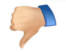 Photo of   thumbs down