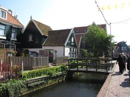 Photo of Amsterdam Zaanse Schans Windmills, Marken and Volendam Half-Day Trip from Amsterdam Volendam houses