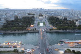 Looking across the River Seine towards Trocadero. , Susan P - October 2013