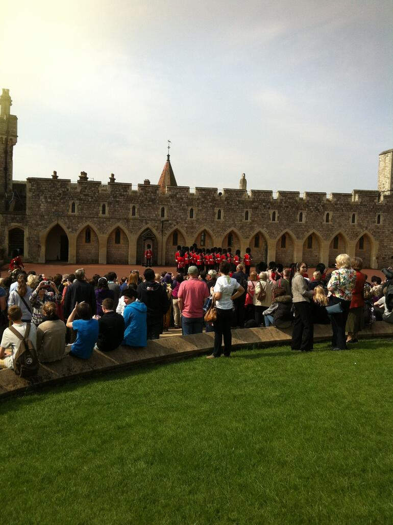 Changing of the Guards at Windsor -