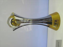 One of hundred of trophys won during the team's long and storied history. , Anthony M - July 2012