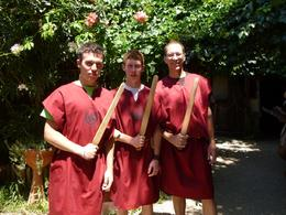 Photo of Rome Roman Gladiator School: Learn How to Become a Gladiator Gladiators in training