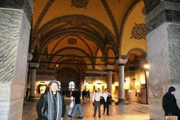 Photo of Istanbul Istanbul in One Day Sightseeing Tour: Topkapi Palace, Hagia Sophia, Blue Mosque, Grand Bazaar Inside the Aya Sofia