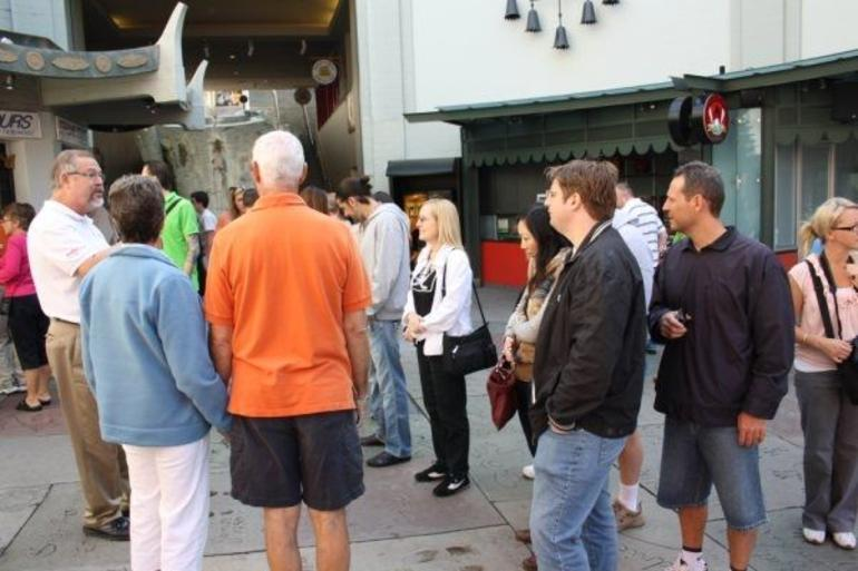 Our tour group - Los Angeles