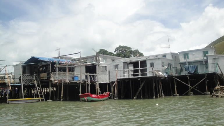stilted houses - Hong Kong