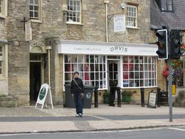 Photo of London Lunch in the Cotswolds from London The boss shopping for a Burbary shawl.