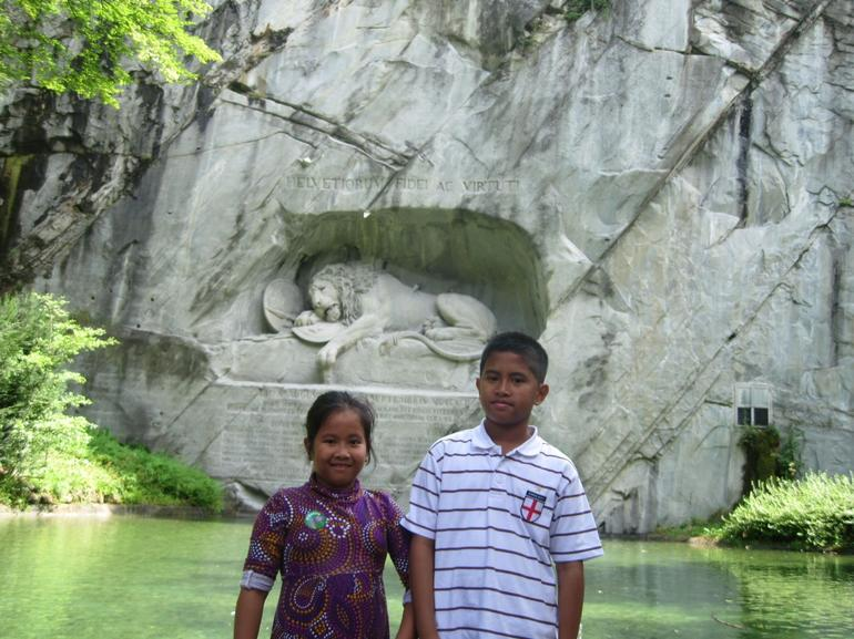 The Lion Monument - Zurich
