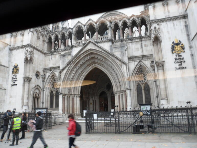 The Royal Courts of Justice - London