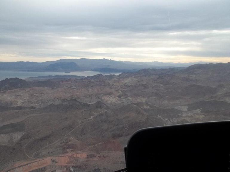 The View from the Helicopter - Las Vegas