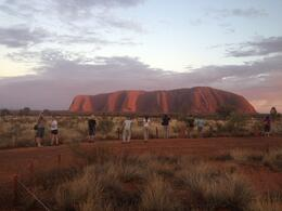 Photo of Ayers Rock Sunrise Over Uluru (Ayers Rock) and Base Walk with Indigenous Guide Uluru