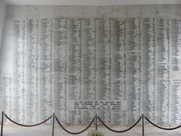 The wall inside the memorial listing all the people who lost their lives on December 7th, 1941., Bandit - February 2011