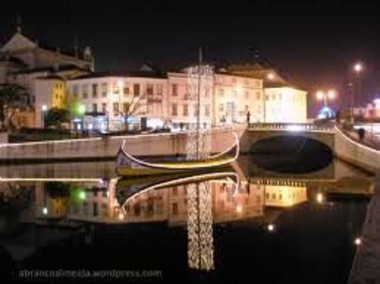 Aveiro City Center by Night - Northern Portugal