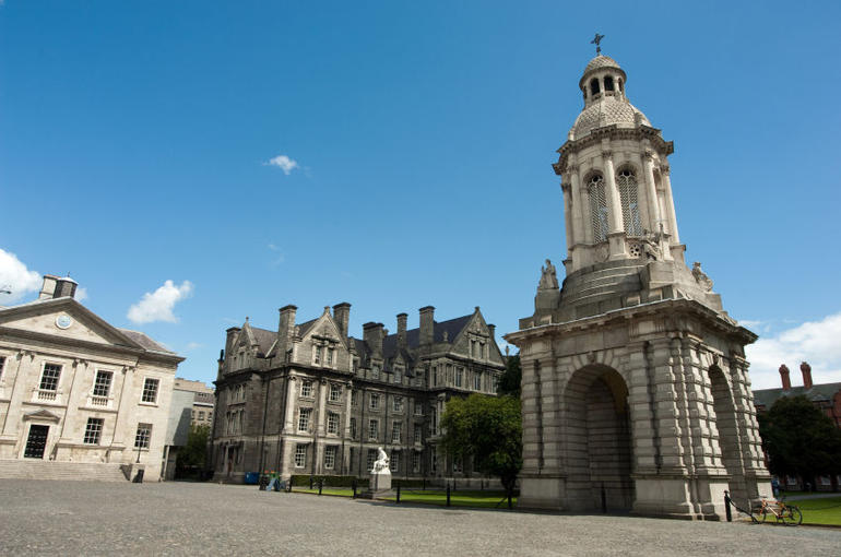 Bell Tower, Trinity College - Dublin