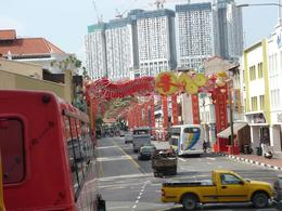 Driving into China town., Ana M L - February 2009