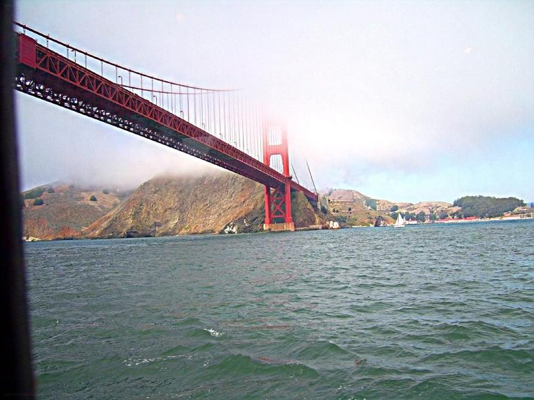 Coming under the other side of the Golden Gate bridge - San Francisco