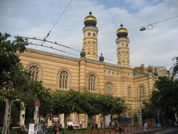 Photo of Budapest Budapest Night Walking Tour and River Cruise Great Synagogue Dohany Utca