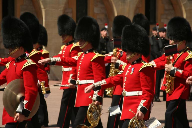 Guards Marching - London