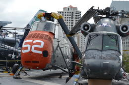 Photo of San Diego USS Midway Museum helicopters