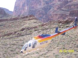 Photo of Las Vegas Grand Canyon South Rim Bus Tour with Optional Upgrades Incoming Chopper