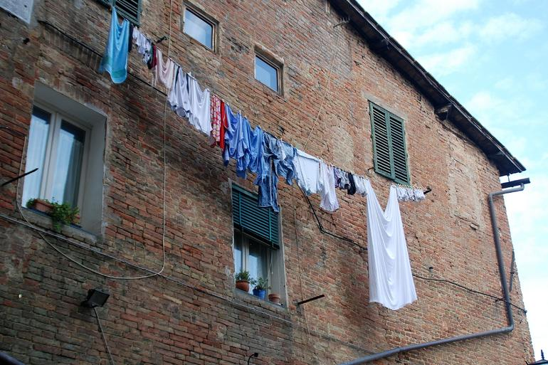 Laundry on a Line - Florence