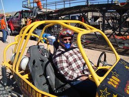 Photo of Las Vegas Nellis Dune Buggy Tour Lets go already!