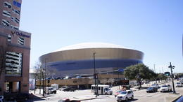 Photo of New Orleans New Orleans Hop-On Hop-Off City Tour MERCEDES BENZ SUPER DOME