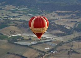 "Photo of Melbourne Yarra Valley Balloon Flight at Sunrise One of Our ""Sister"" Balloons"