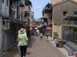 Photo of Hong Kong Cheung Chau (Long Island) Tour with Dim Sum lunch One of the many narrow streets