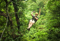 Photo of San Juan Zipline Canopy Eco-Adventure from San Juan