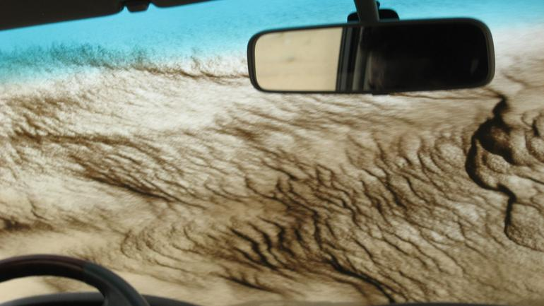 Sand on the Windshield - Dubai